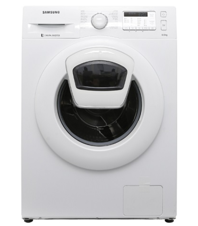 may giat Samsung AddWash Inverter 8 kg WW80K5233YW:SV