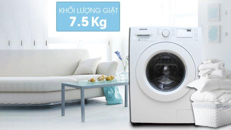 may giat Samsung 7.5 kg WW75J4233KW:SV