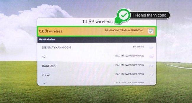tivi tcl ket noi wifi