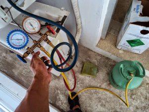 Bơm nạp gas điều hòa