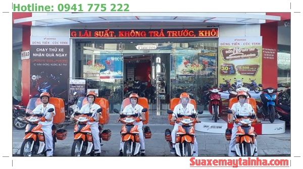 Đội cứu hộ xe máy An Bình Motor