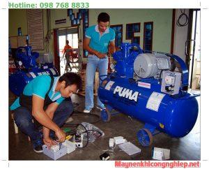sửa máy nén khí piston